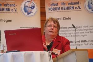 Angela Hoffmann spricht über ihre Erfahrungen als pflegende Angehörige