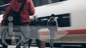 Bahnreisende mit Behinderung bleiben auf der Strecke