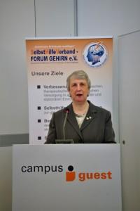 Vorsitzende, Roswitha Stille