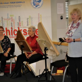 Veeh-Harfen, Annelie Pircher und zwei weitere Spielerinnen