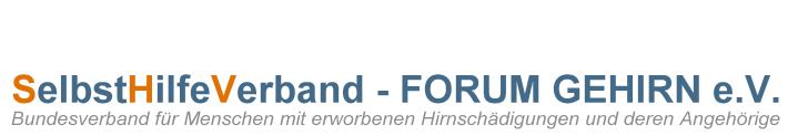 SelbstHilfeVerband – FORUM GEHIRN e. V.